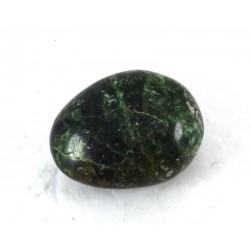 Deep Green Apatite Pebble