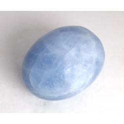 Blue Calcite Freeform Pebble