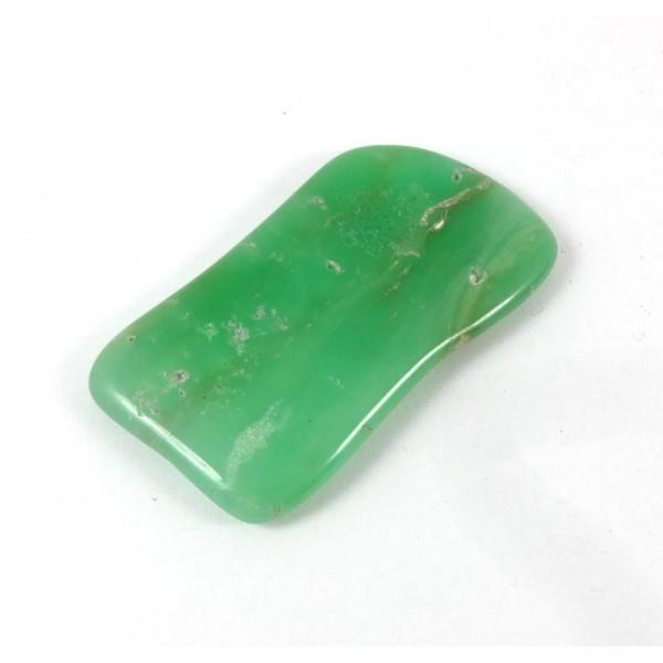 Apple Green Chrysoprase Polished Freeform