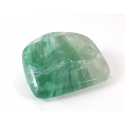 Green Fluorite Polished Pebble