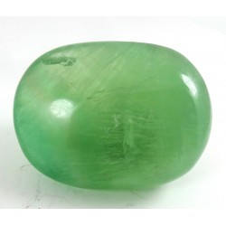 Bright Green Fluorite Polished Pebble