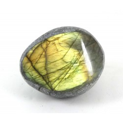 Bright Golden Labradorite Dragons Egg