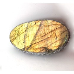 Golden Labradorite Dragons Egg