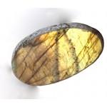 Golden Labradorite Dragons Egg