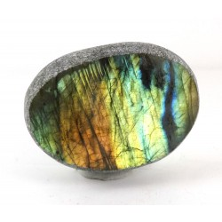 Multi Colour Classic Labradorite Dragons Egg