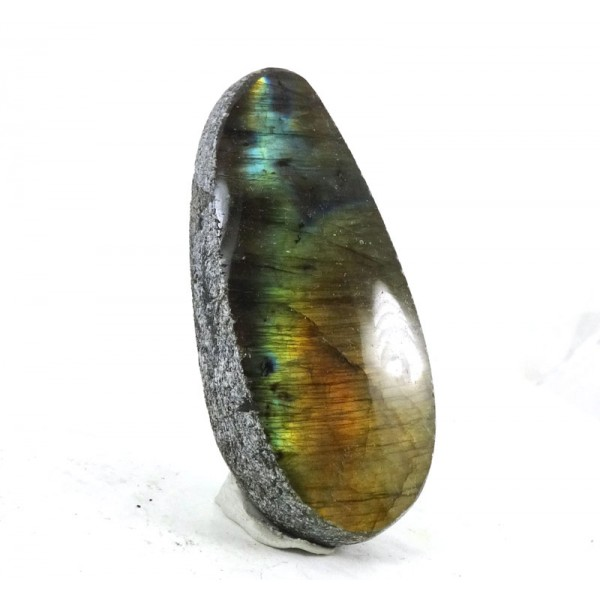 Colourful  Gold Labradorite Dragons Egg