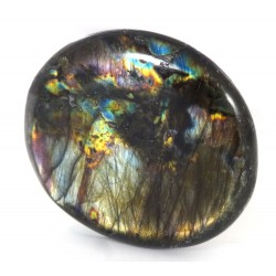 Vibrant Colour Labradorite Pebble