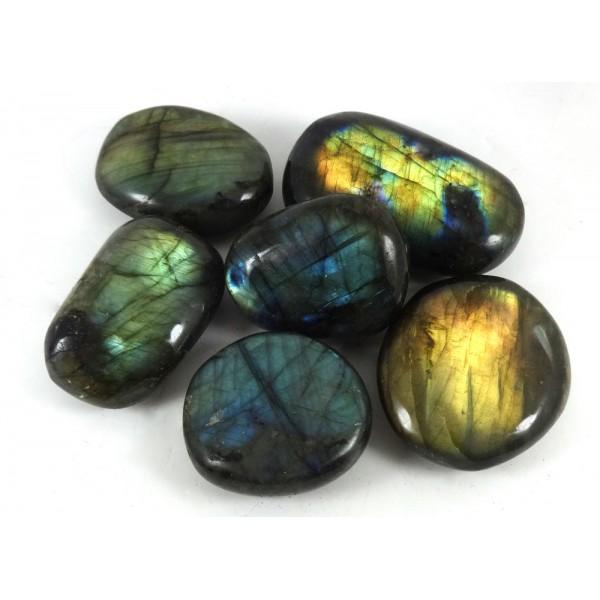 Large Labradorite tumblestones 33-43mm