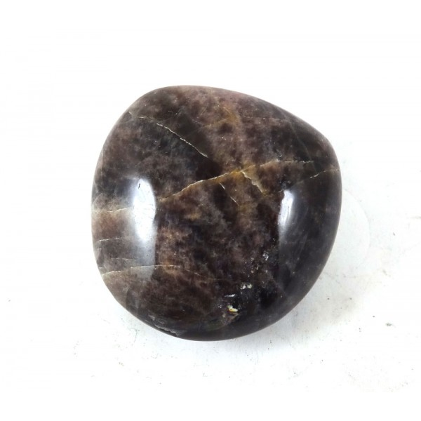 Black Moonstone Polished Schiller Pebble