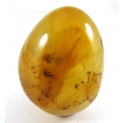 Iron Dendritic Quartz Pebble