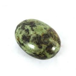 Mottled Lime Green Serpentine Palmstone