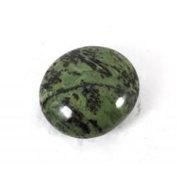 Green Patterned Serpentine Palmstone