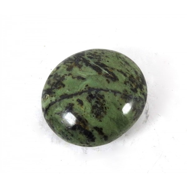 Green Patterned Serpentine Palmstone