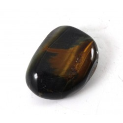 Polished Tigers Eye Shiny Pebble