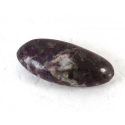 Tourmaline in Quartz Pebble