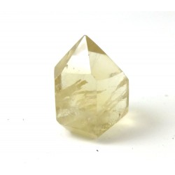 Citrine Faceted Point 25mm