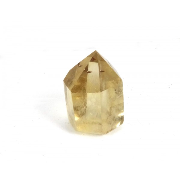 Citrine Faceted Point  26mm
