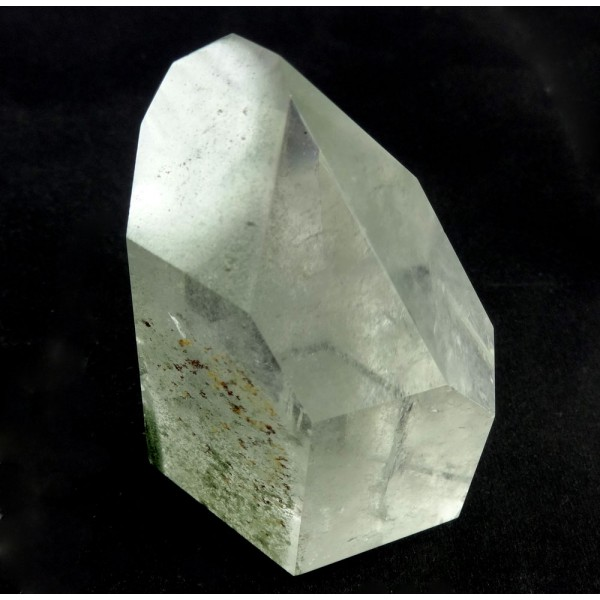 Chlorite Clear Quartz Point from Brazil