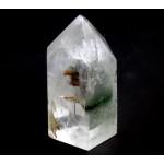 Clear Quartz Chlorite Phantom Point