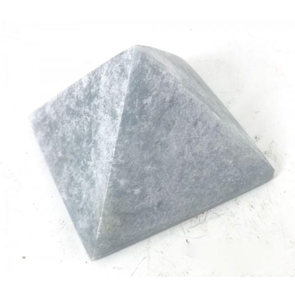 Mottled Colour Angelite Pyramid 33mm