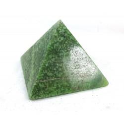 Hydrogrossular Garnet Pyramid