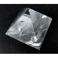 Clear Quartz Polished Pyramid
