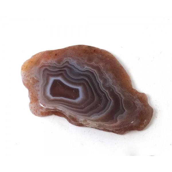 Agate Patterned Slice Botswana
