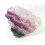 Colourful Fluorite Mineral Slice