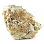 Green Aragonite Crystal Chunky Polished Surface