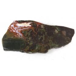 Polished Rhyolite and Opalite Slice