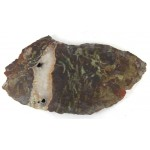 Chunky Polished Rhyolite with Opalite Slice