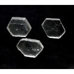 Clear Quartz Crystal Slice