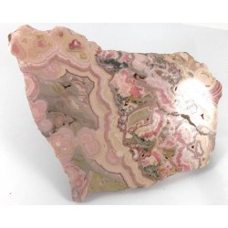 Polished Rhodocrosite Slice