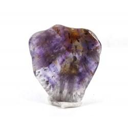 Super Seven Amethyst and Quartz Mineral