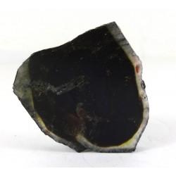 Dark Colour Tourmaline Slice