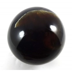 Blue Indonesian Amber Sphere