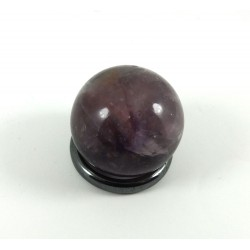 Chevron Amethyst Small Crystal Ball