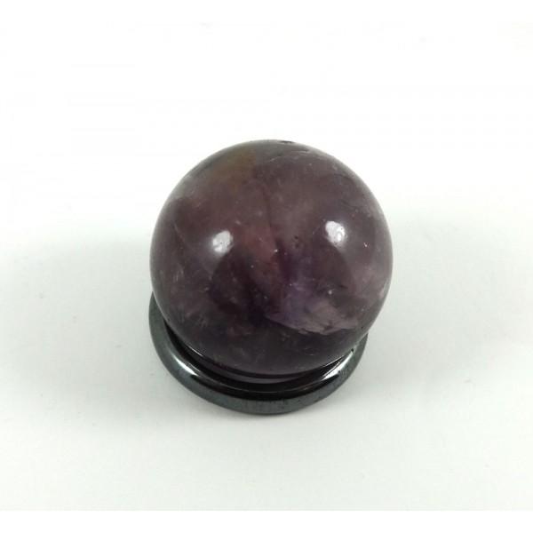 Chevron Amethyst Small Crystal Ball