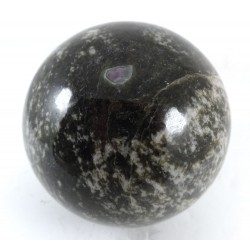 Rubies in Amphibolite Crystal Ball
