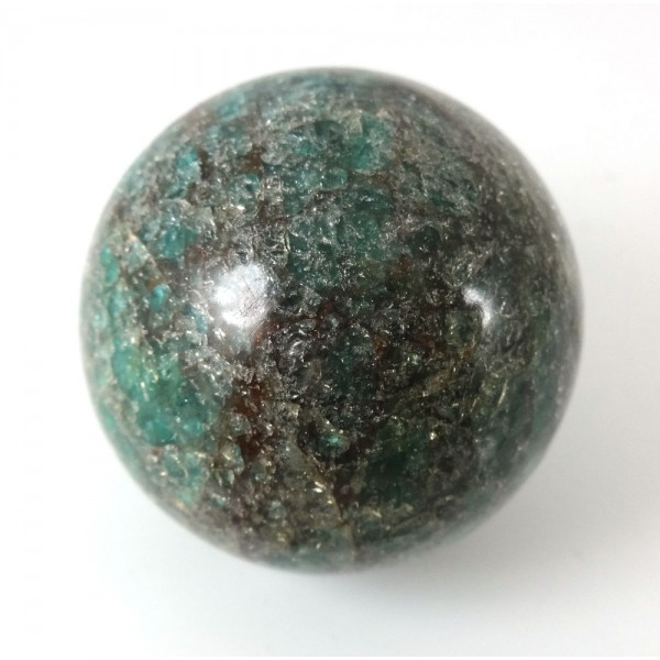 Green Blue Apatite Crystal Ball