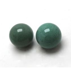 2 Aventurine Crystal Balls