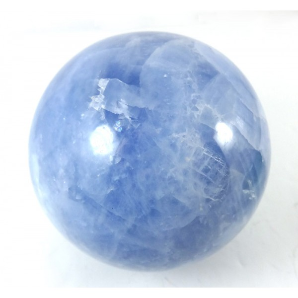 Blue Calcite Crystal Ball