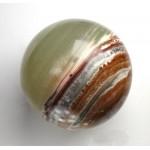 Pistachio Green Calcite Sphere