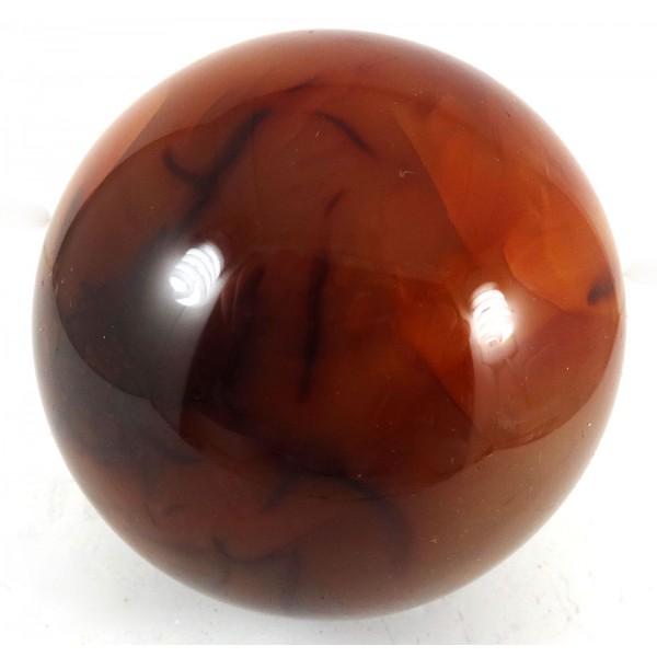 Larger Carnelian Crystal Ball