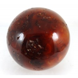 Carnelian Crystal Ball