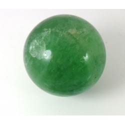 Green Fluorite Crystal Ball