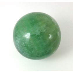 Green Fluorite Crystal Sphere