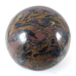Patterned  Jasper Crystal Ball