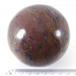 Jasper Patterned Crystal Ball