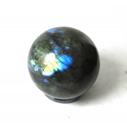 Small Labradorite Crystal Sphere 35mm